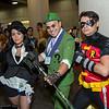 Zatanna, Riddler, and Robin
