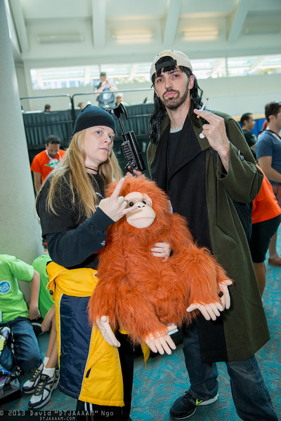 Jay, Silent Bob, and Suzanne