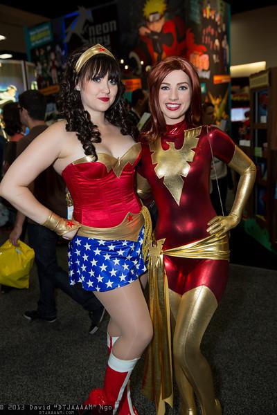 Wonder Woman and Dark Phoenix