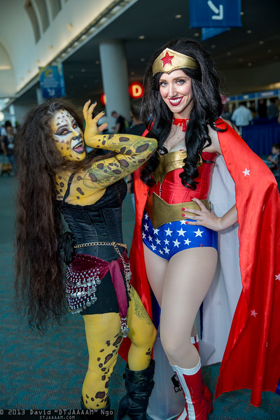 Cheetah and Wonder Woman