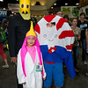 Earl of Lemongrab, Princess Bubblegum, and Peppermint Butler