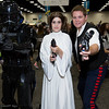 Shadow Stormtrooper, Princess Leia Organa, and Han Solo