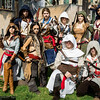 Assassins, Arno Dorians, Connor Kenway, Edward Kenways, Altair Ibn-La'Ahad, and Ezio Auditore da Firenze