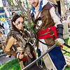 Connor Kenway and Edward Kenway