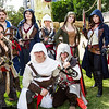 Connor Kenway, Edward Kenway, Arno Dorians, Altair Ibn-La'Ahad, Ezio Auditore da Firenze, and Assassins