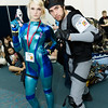 Samus Aran and Solid Snake