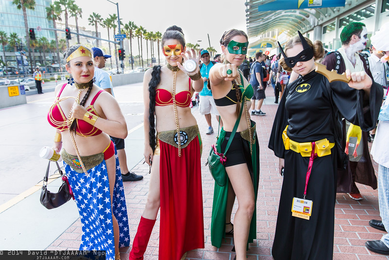 Wonder Woman, Iron Man, Green Lantern, and Batgirl