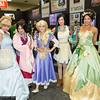 Cinderella, Mulan, Rapunzel, Pocahontas, and Tiana