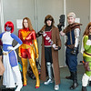Magneto, Mystique, Dark Phoenix, Gambit, Cable, and Hope Summers