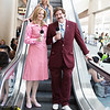 Veronica Corningstone and Ron Burgundy
