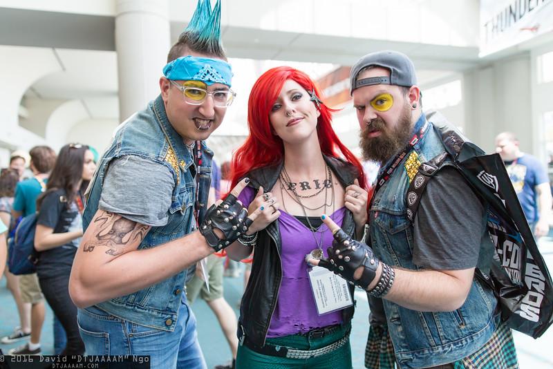 Flotsam, Ariel, and Jetsam