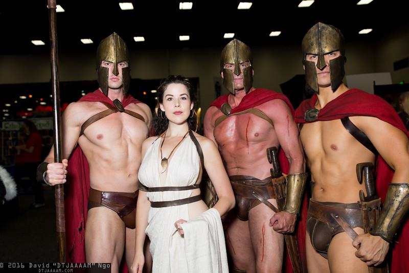 Spartans and Queen Gorgo