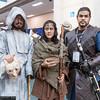 Jaqen H'ghar, Arya Stark, and Jon Snow