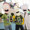 Jerry Smith, Mr. Poopybutthole, and Rick Sanchez