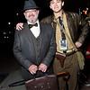 Professor Henry Jones and Indiana Jones