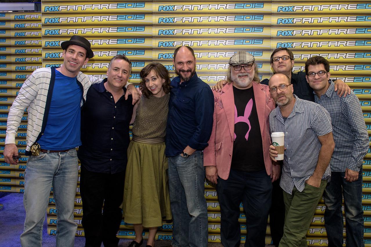 San Diego Comic Con 2015/ Cast of Bob's Burger