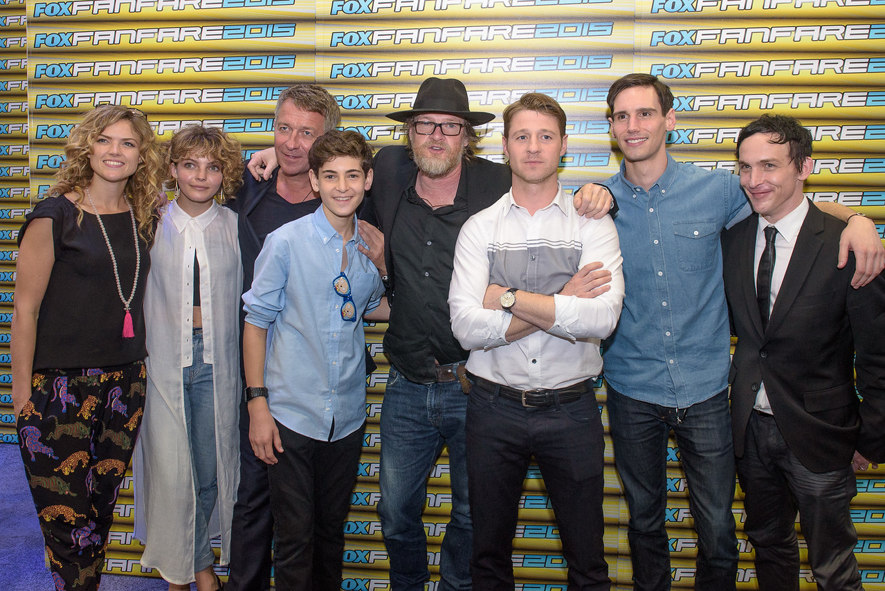 San Diego Comic Con 2015 / Cast of Gotham