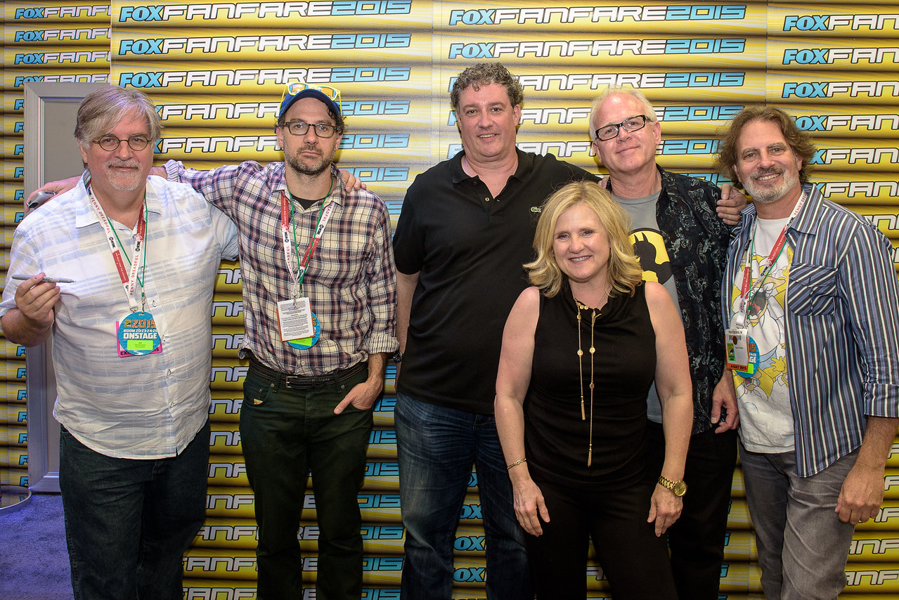 San Diego Comic Con 2015 / Cast of the Simpsons