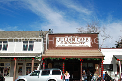 2112 Main Street, Julian, CA - San Diego County - 1872 Julian Cafe, rebuilt 1978