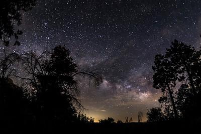Vía Láctea in Cuyamaca.