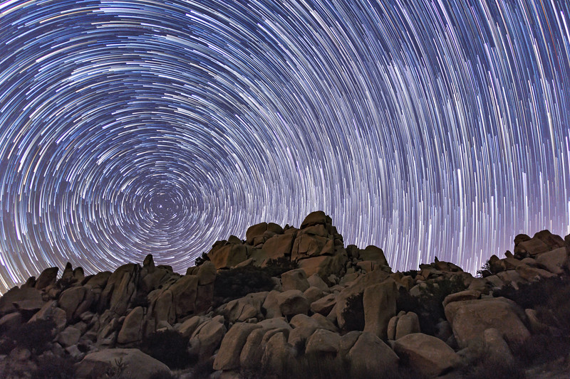 Jacumba, California Valley of the Moon Star Trails
