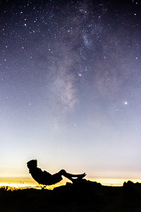 Stargazing Above The Light Pollution.