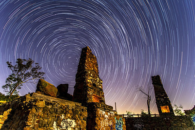 Starry Night Over the Ruins of the MacVane House