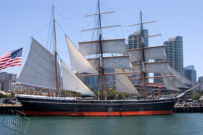 1863 Barque Star Of India