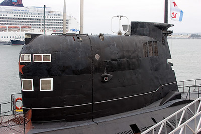 Sail area of B-39 Submarine
