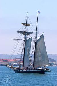 Topsail schooner Californian