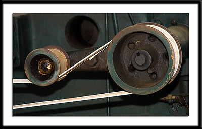 Idler Pulleys on Allis-Chalmers Corliss Engine