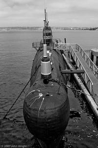 Ex-Soviet Foxtrot submarine B-39