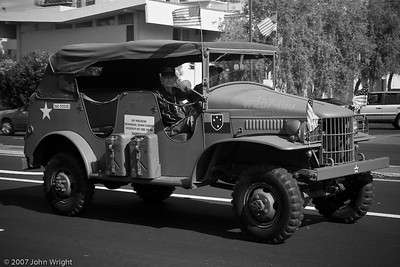 US Army scout car c. WWII