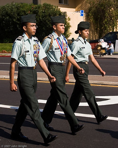 Spit and polish... Army JROTC