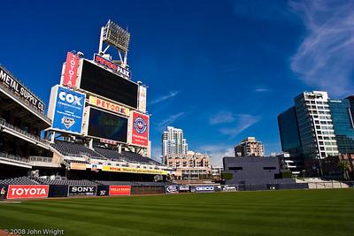 Field and scoreboard