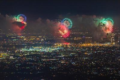 San Diego Big Bay Boom Fireworks 2018