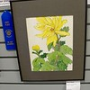 Again, Nancy Shaw won another First Place Award for this excellent Chrysanthemum painting