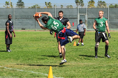 Catch for extra point.