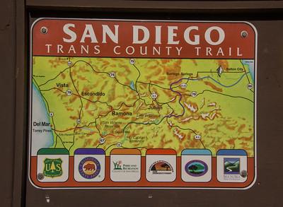 Hike - Trans County Trail - Los Penasquitos - Nov 30, 2016