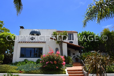 1845 Fort Stockton Drive, San Diego Mission Hills - 1924 Lewis and Muriel Dilley Residence - Spanish Style