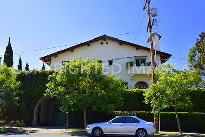 434 West Spruce Street, San Diego - 1914 A H Sweet House, Mead and Requa, Architects, Spanish Revival Style