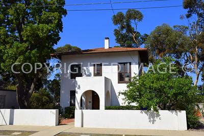 3506 Albatross Street, San Diego - 1909 G.W. Simmons House, Irving Gill, Architect, Cubist Style
