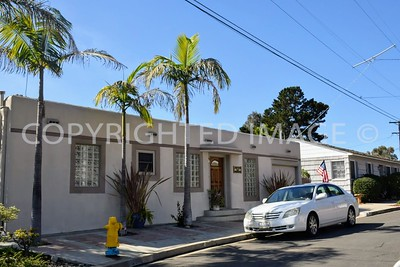 3889 Pringle Street, Mission Hills San Diego, CA - 1938 Streamline Moderne Style