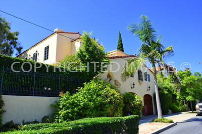407 West Spruce Street, San Diego - 1927 Low Residence, William Templeton Johnson, Architect, Spanish Revival Style