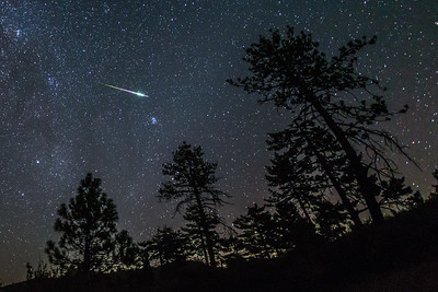 Most Epic Perseid Meteor of the Night (2016 Perseids)