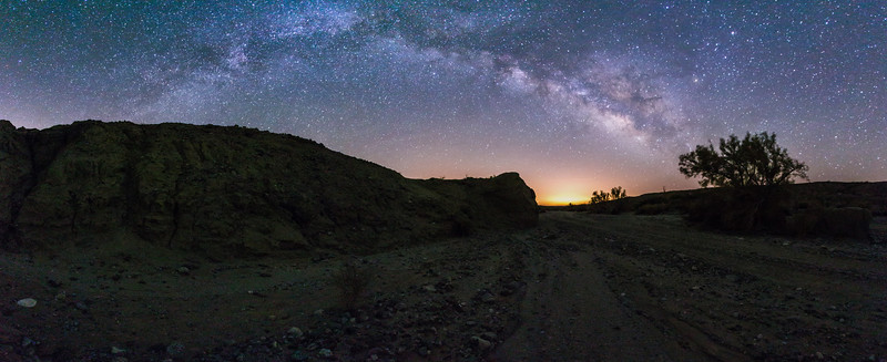 Milky Way over Arroyo Salado