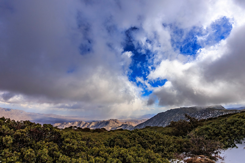 Storm Clouds From Atop Mount Laguna