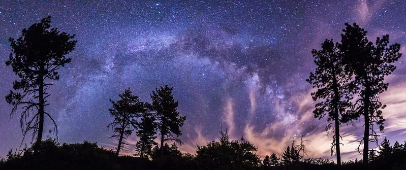 Vía Láctea in Mount Laguna