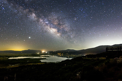 Milky Way Over Lake Henshaw.