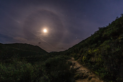 22° moon halo near Mildred Falls